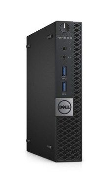 Počítač DELL OptiPlex 3040 Micro / Intel i3-6100T 3.2GHz / 4GB / 500GB / Intel HD / W7P+W10P/ černý / 3YNBD