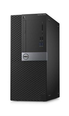 DELL OptiPlex 5040 MT / Intel i3-6100 3.7GHz / 4GB / 500GB / DVD-RW / Intel HD / W7P+W10P / 3YNBD