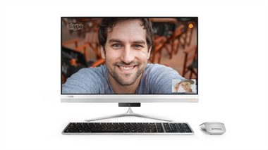 "Lenovo IdeaCentre AIO 510S-23ISU / 23"" FHD Touch / Intel Pentium 4405U 2.1GHz / 4GB / 1TB / Intel HD / WiFi+BT / W10"