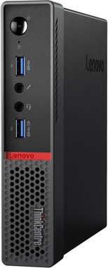 Počítač Lenovo ThinkCentre M700 Tiny / Intel Core i3-6100T 3.2GHz / 4GB / 500GB+8GB / Intel HD Graphics / W7P+W10P / černá