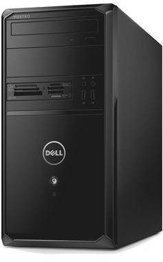 DELL Vostro 3900 MT/ Intel Core i5-4460 3.2GHz / 8GB / 1TB / DVDRW / GTX745 4GB / W10P / 3YNBD