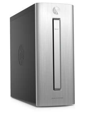Počítač HP Envy 750-450nc / Intel Core i5-6400 2.7GHz / 16GB / 128GB SSD+1TB / nVidia GTX 1070 8GB / Win10