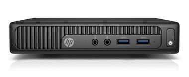 HP 260 G2 DM / Intel Celeron 3855U 1.6GHz / 4GB / 500GB / Intel HD / Win10P / černá