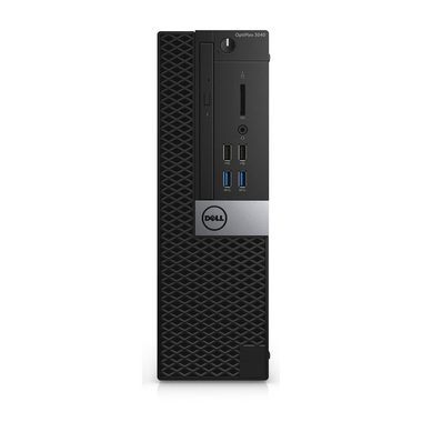 Počítač DELL OptiPlex 3040 SFF / Intel i3-6100 3.7GHz / 4GB / 256GB SSD / DVDRW / Intel HD / W10P / černý / 3YNBD