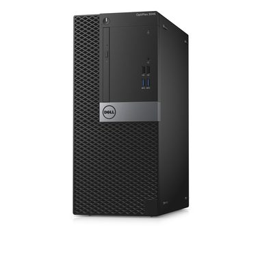 Počítač DELL OptiPlex 3046 MT / Intel Core i3-6100 3.7GHz / 4GB / 500GB / Intel HD 530 / DVDRW / W10P/ černý / 3YNBD