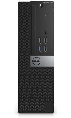 Počítač DELL OptiPlex 3046 SFF / Intel Pentium G4400 3.3GHz / 4GB / 500GB / Intel HD 510 / DVDRW / W10P / černý / 3YNBD