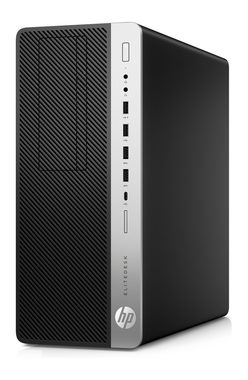 HP EliteDesk 800 G3 TWR / i7-7700K 4.2 GHz / 16GB / 512 GB SSD / NVIDIA GeForce GTX 1080 8G /  DVDRW / Win10 Pro
