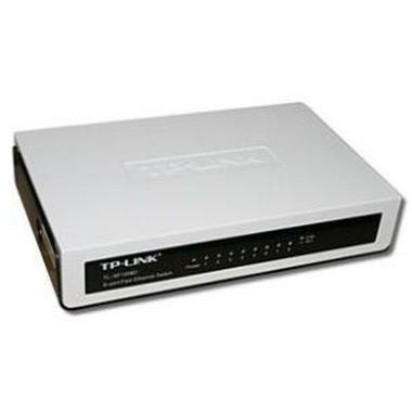 TP-LINK TL-SF1008D / Switch / 1.6 Gbps / 8x LAN