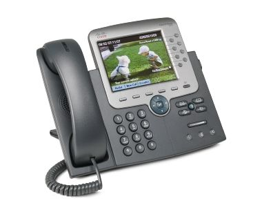 Cisco CP-7975G= / IP telefon / IOS / LCD displej