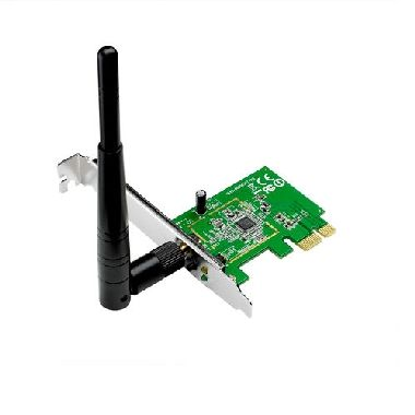 ASUS PCE-N10 / Wi-Fi Adapter N150 / 2.4GHz - 150Mbps / PCI-Express x1