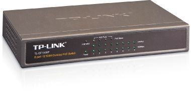 TP-LINK TL-SF1008P / Switch / 1.6 Gbps / 8x LAN / PoE