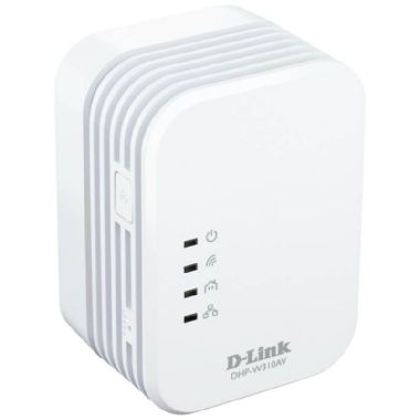 D-Link DHP-W310AV / Powerline Mini Extender / 802.11n / 500 Mbps