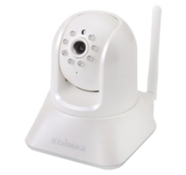 Edimax IC-7001W / IP Camera / Night IR / Wireless / Plug&View / Audio / AVI / Motorized pan/tilt