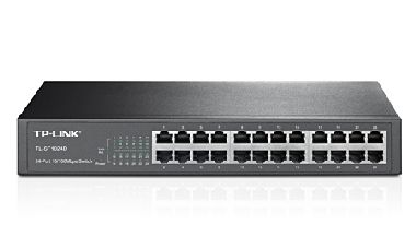 TP-LINK TL-SF1024D / Switch / 4.8 Gbps / 24x LAN