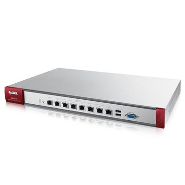 ZyXEL ZyWALL USG210 / UTM BUNDLE / Security UTM solution / Firewall / VPN:200x IPSec/ 50x SSL / 6x 1Gbps 4x LAN/DMZ