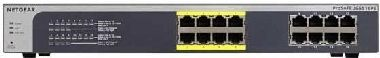 NETGEAR JGS516PE / 16xGb / 8x PoE Plus switch / 85W
