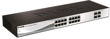D-Link DGS-1210-20/ 16x gigabit RJ45 Smart Switch / 4x SFP