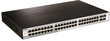 D-Link DGS-1210-52 / 52x Port Gigabit Smart Switch / 48x gigabit RJ45 / 4x gigabit SFP