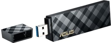 ASUS USB-AC55 / USB Adapter AC1300 / 2.4GHz - 400Mbps / 5GHz - 867Mbps / USB 3.0