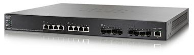 Cisco SG500XG-8F8T-K9-G5 / 16x 10G port / Switch