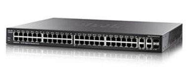 Cisco SG200-50FP / Switch / 48-Port 10/100/1000 / PoE Smart / 2x Combo mini-GBIC