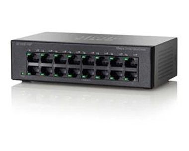 Cisco SF100D-16P / 16x 10/100 / PoE / Switch
