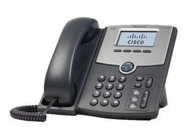 Cisco SPA512G / IP telefon / 1 linka / PoE / 2x 10/100/1000 port / LCD displej
