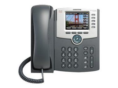 Cisco SPA525G2 / IP telefon / 5 linek / PoE / 802.11g / Bluetooth / LCD displej