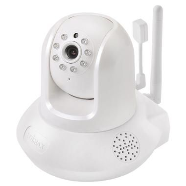 Edimax IC-7113W / 720p Wireless H.264 IR PT IP Camera /  temp.&hum.sensor / 2-way audio