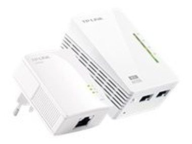 TP-LINK TL-WPA2220 Starter Kit / Powerline Repeater AV200 / 802.11n / 2.4GHz 300Mbps / 2x LAN / HomePlug AV