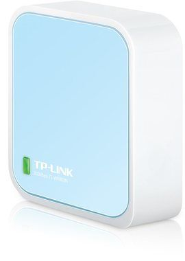 TP-LINK TL-WR802N / Router N300 / 2.4GHz - 300Mbps / WAN / Micro USB