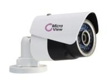 MicroView MVIB-01IR / Mini IR Bullet IP1.3MP Outdoor / IR 30m / PoE / IP66 / 4mm lens / IK10 Vandal proof / bílá