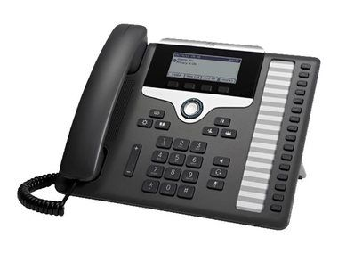 Cisco CP-7861-K9= / IP telefon / 2x RJ-45 / displej