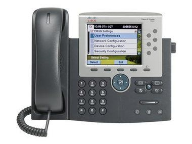 Cisco Unified IP Phone 7965G / IP telefon 7965G / barevný LCD displej / 320x240 / 2x RJ-45