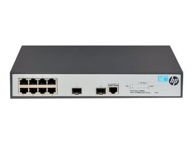 HP 1920-8G Switch / 8x 100/1000 RJ45 portů + 2x SFP 1000 Mbps porty