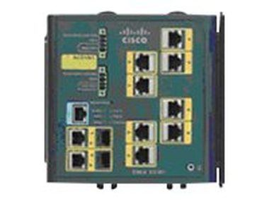 Cisco IE-3000-8TC / Switch / 8x 10/100 + 2 T/SFP