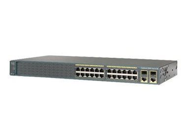 Cisco WS-C2960+24PC-L / řízený switch / 24xFE PoE / 2xT/SFP