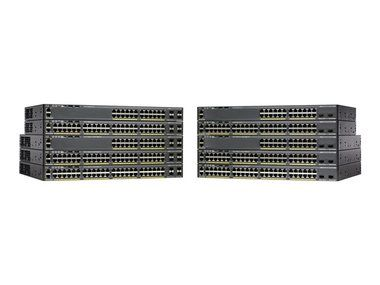 Cisco Catalyst 2960-X / 48 GigE / PoE 370W / 2 x 10G SFP+ LAN Base