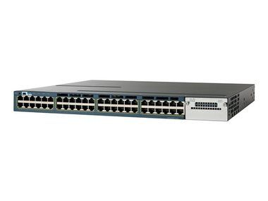 Cisco WS-C3560X-48P-S / Switch / 48xGigE / PoE IP Base