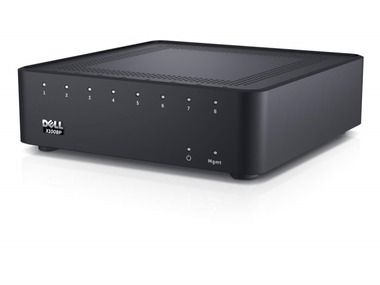 DELL Networking X1008P gigabit switch / 8x 10/100/1000 POE port / Web smart management / NBD on-site