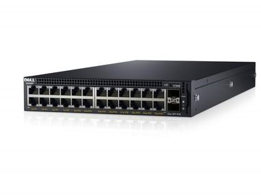 DELL Networking X1026P gigabit switch / 24x 10/100/1000 POE port / 2x SFP 1Gb / Web smart management / NBD on-site