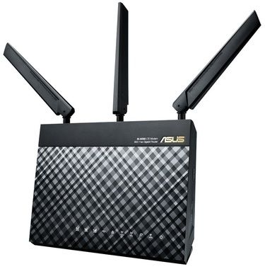 ASUS 4G-AC55U / MIMO 3G + LTE Modem Router AC1200 / 2.4GHz - 300Mbps / 5GHz - 867 Mbps / GWAN + 4x GLAN / USB 2.0 / SIM