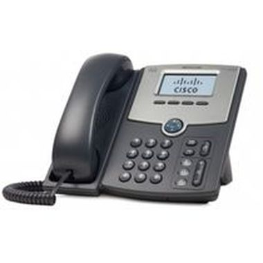 ROZBALENO - Cisco SPA502G - IP telefon, 1 linka, PoE, LCD displej / rozbaleno