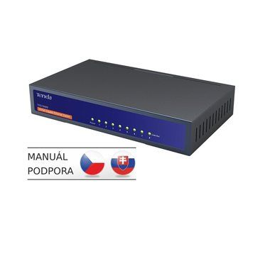 Tenda TEG1008D / 8-Port Gigabit Switch / 8x 10/100/1000 Mbps