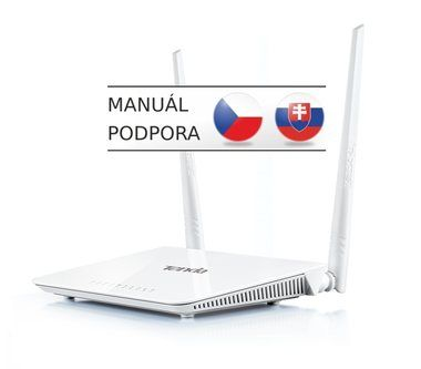Tenda A302 / Wireless-N / 802.11n / 2.4 GHz / 300 Mbps / 4x LAN / 2x 5 dBi