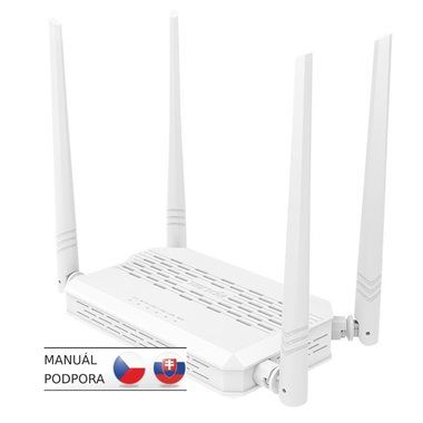 Tenda FH330 / Wireless-N / 802.11n / 2.4 GHz / 300 Mbps / 1x WAN / 3x LAN / 4x 5 dBi