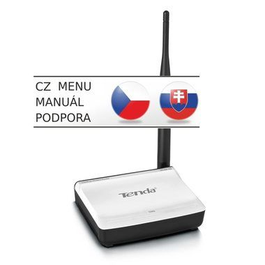 Tenda N3 / Wireless-N Router / 802.11n / 2.4 GHz / 150 Mbps / 1x WAN / 1x LAN / 1x 5dBi