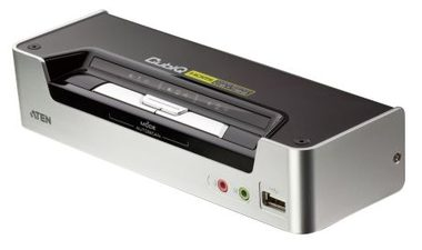 ATEN CS1792 / 2-Port HDMI USB 2.0 KVMP Switch / 2x HDMI Kabely / 2-port Hub / HD Audio