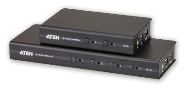 ATEN CS72D / 2-Port USB DVI KVM Switch / 1x 1.2m 44-pin KVM kabel / bez napájení