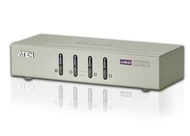 ATEN CS74U / 4-Port USB KVM Switch a audio / 4x kabel